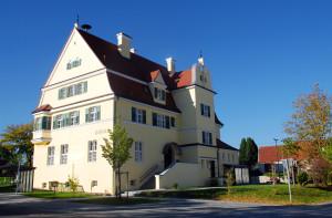 Rathaus der Gemeinde Laugna